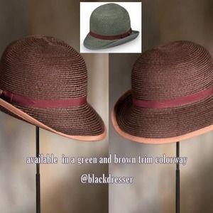 Goorin Bros Open Crown Women's Wheat Straw Hat, Size Medium
